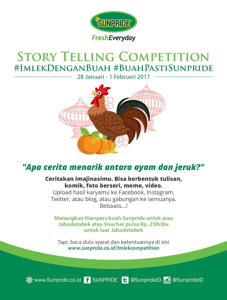 Imlek Story Telling Competition
