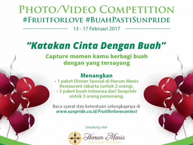Fruit For Love Photo/Video Competition